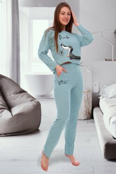 Домашний костюм с брюками Brosko